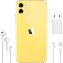 Фото товара Apple iPhone 11 (256Gb, yellow)