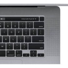 Фото товара Apple MacBook Pro 16 with Retina display and Touch Bar Late 2019 (MVVJ2, i7 2.6GHz/16Gb/512Gb, space gray)