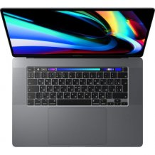 Ноутбук Apple MacBook Pro 16 with Retina display and Touch Bar Late 2019 (MVVJ2RU/A, i7 2.6GHz/16Gb/512Gb, space gray)