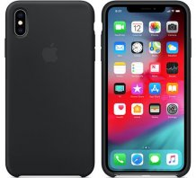 Фото товара Apple Silicone Case для iPhone XS Max (black, MRWE2ZM/A)