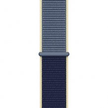 Фото товара Apple Watch Edition Series 5 GPS + Cellular 44mm (White Ceramic Case with Alaskan Blue Sport Loop)
