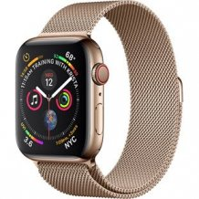 Умные часы Apple Watch Series 4 GPS + Cellular 44mm (Gold Stainless Steel Case with Gold Milanese Loop)