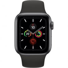 Фото товара Apple Watch Series 5 GPS 44mm (Space Gray Aluminium Case with Black Sport Band)