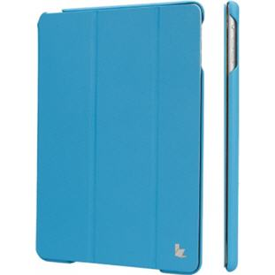 Чехол JisonCase Smart Cover книжка для Apple iPad Air  (голубой)