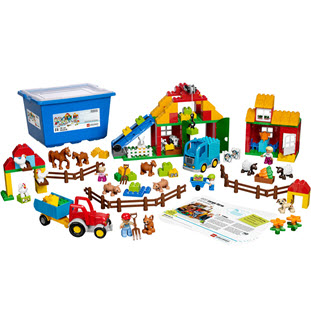 Конструктор LEGO Education PreSchool 45007 Большая ферма