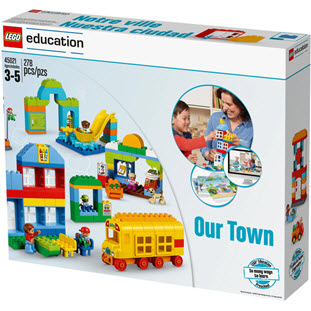 Конструктор LEGO Education PreSchool 45021 Наш городок