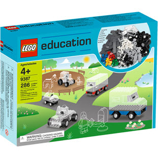 Конструктор LEGO Education PreSchool 9387 Набор с колесами