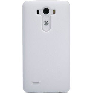 Чехол Nillkin Super Frosted накладка-пластик для LG G3 (белый)