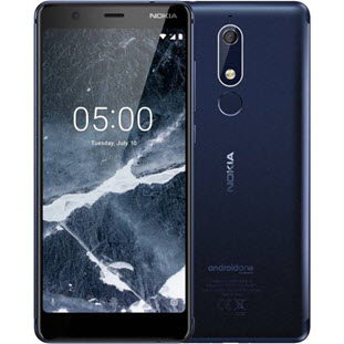 Фото товара Nokia 5.1 (16Gb, blue)