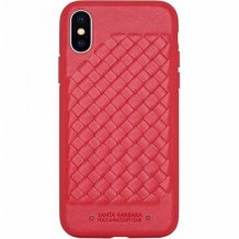 Чехол Santa Barbara Ravel для iPhone X/Xs (red)