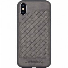 Чехол Santa Barbara Ravel для iPhone X/Xs (grey)