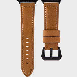 Ремешок Uniq Kronos Geniune Leather для Apple Watch 42mm (42MM-KRNSBWN, brown)