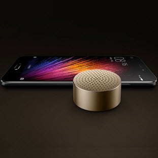 Фото товара Xiaomi Mi Bluetooth Speaker Mini (gold)