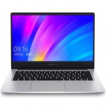 "Ноутбук Xiaomi RedmiBook 14"" (Intel Core i5 8265U 1600 MHz/14""/1920x1080/8GB/256GB SSD/DVD нет/NVIDIA GeForce MX250/Wi-Fi/Bluetooth/Windows 10 Home, silver)"