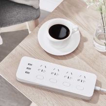 Фото товара Xiaomi MiJia Intelligent Power Strip 4 (NRB4023CN, 1.8 м, белый)