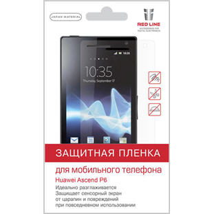 Red Line для Huawei Ascend P6/P6S (глянцевая)