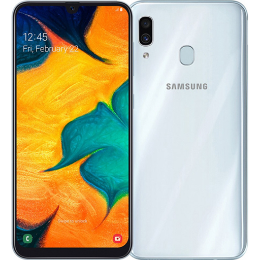 Samsung Galaxy A30 (64Gb, SM-A305F, white)