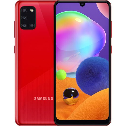 Samsung Galaxy A31 (4/64Gb, red)