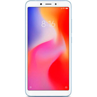 Xiaomi Redmi 6A (2/16Gb, Global, blue)