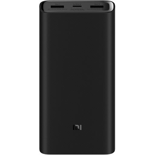 Xiaomi Mi Power Bank 3 Pro (20000 мАч, black)