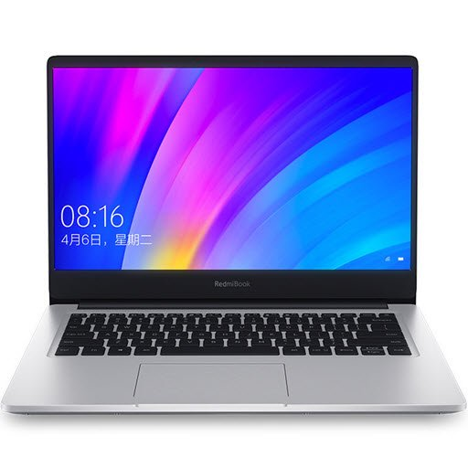 "Xiaomi RedmiBook 14"" (Intel Core i3 8145U 2100 MHz/14""/1920x1080/4Gb/256Gb SSD/DVD нет/Intel UHD Graphics 620/Wi-Fi/Bluetooth/Windows 10 Home, silver)"